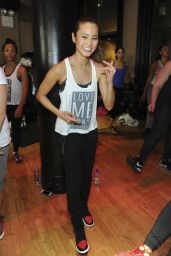Jamie Chung - at DavidBartonGym in New York City, Jan 2015