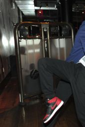 Jamie Chung - at DavidBartonGym in New York City, Jan 2015