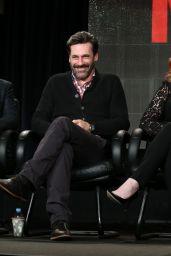 January Jones – 'Mad Men' Panel TCA Press Tour in Pasadena