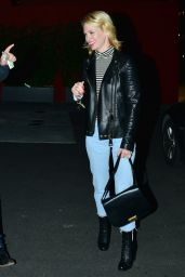 January Jones Night Out Style - Los Angeles, January 2015