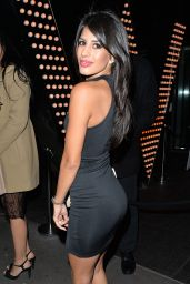 Jasmin Walia Night Out Style - at Cafe De Paris in London - January 2015