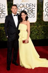 Jenna Dewan Tatum – 2015 Golden Globe Awards in Beverly Hills
