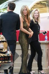 Jennifer Aniston Arriving at the 21st Annual SAG Awards in Los Angeles