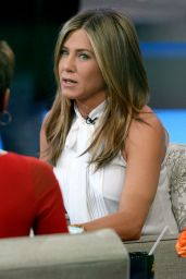 Jennifer Aniston Tapes an Appearance on