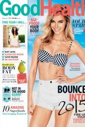 Jennifer Hawkins - Good Health Magazine (Australia) - January 2015 Issue