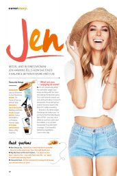 Jennifer Hawkins - Good Health Magazine (Australia) - January 2015 Issue