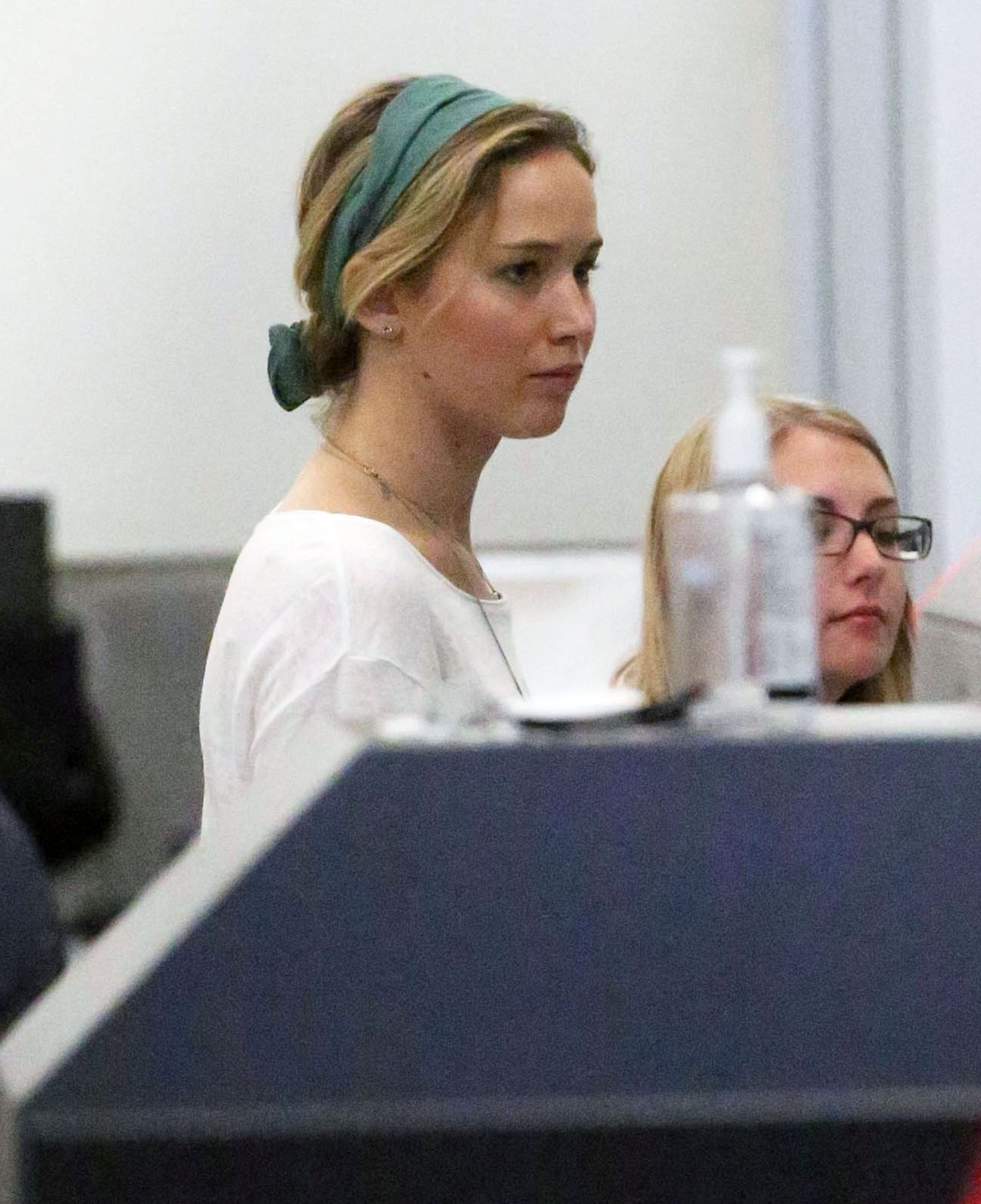 Jennifer Lawrence at LAX Airport in Los Angeles - January 2015