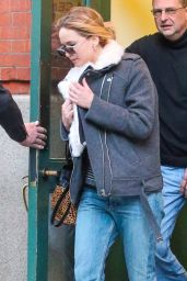 Jennifer Lawrence Street Style - Out in Tribeca, Jan. 2015