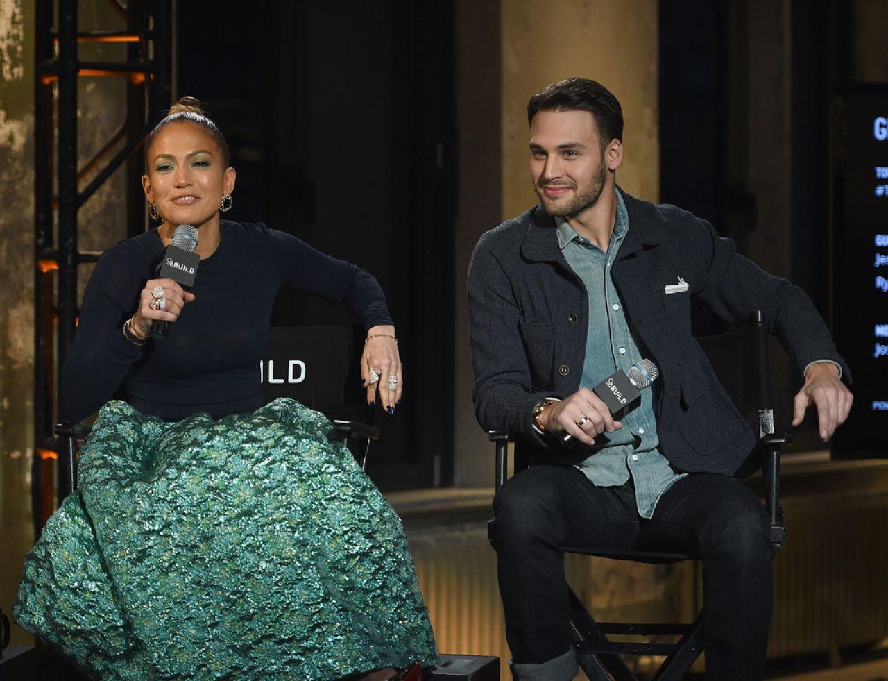 Jennifer Lopez - AOL Build Speaker Series in New York City, January 2015