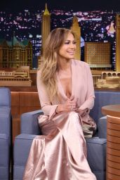 Jennifer Lopez - Appeared on The Tonight Show Starring Jimmy Fallon - January 2015