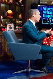 Jennifer Lopez Appeared on Watch What Happens Live in New York City, January 2015