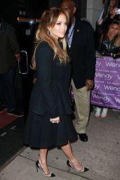 Jennifer Lopez - at the Wendy Williams Show in New York City, January 2015