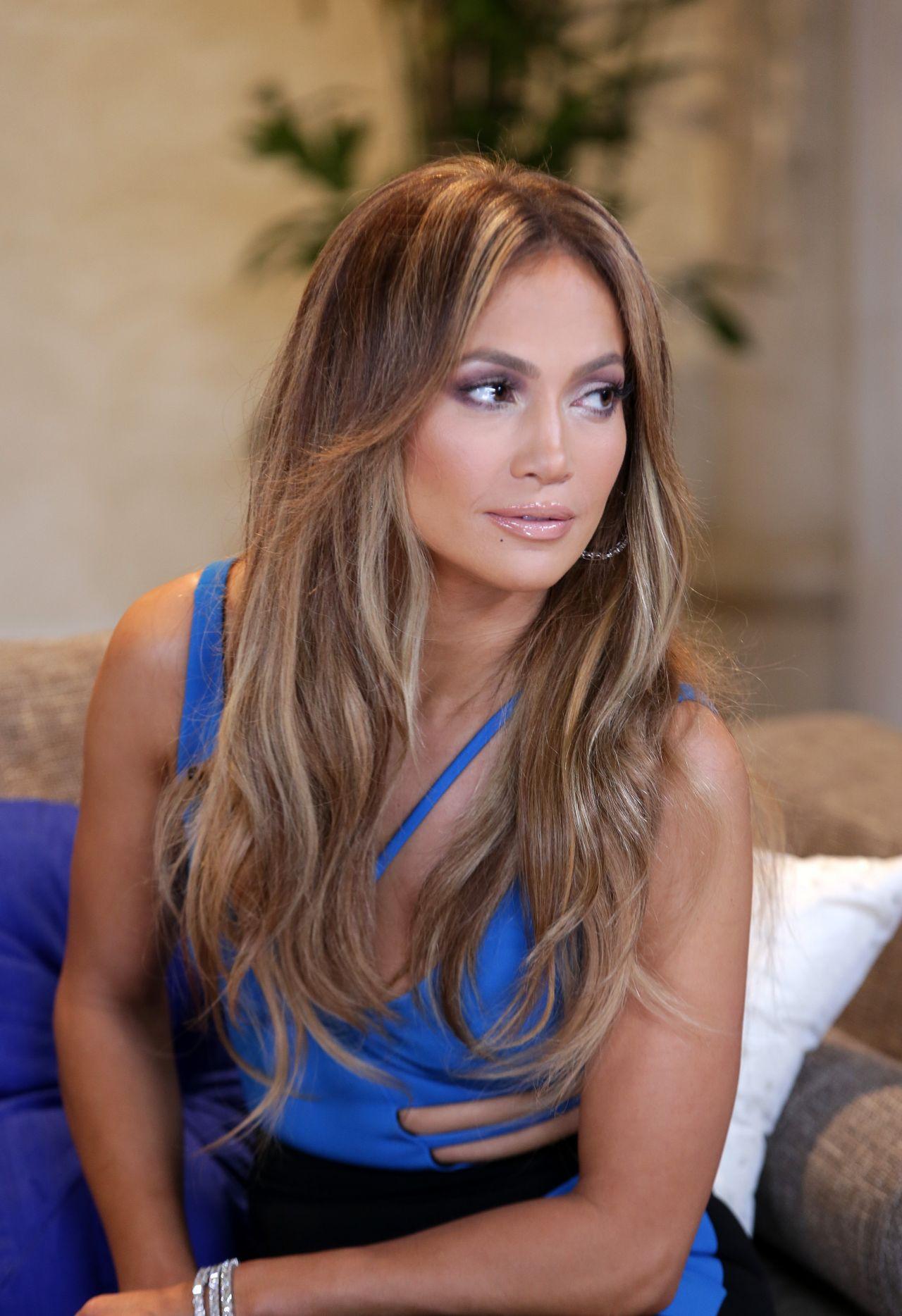Jennifer Lopez Nuestra Belleza Latina 2015 Taping In Miami
