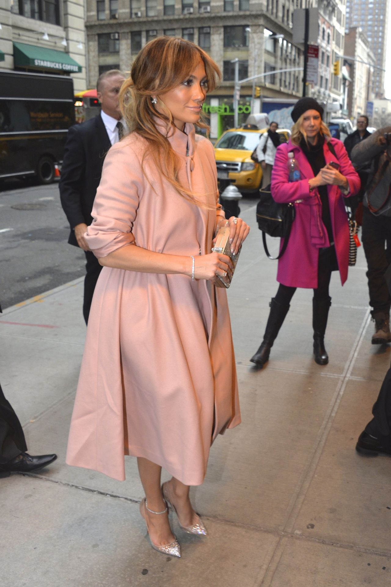 Jennifer Lopez 2015 Celebrity Photos Style Returning To Her Hotel In New York City January