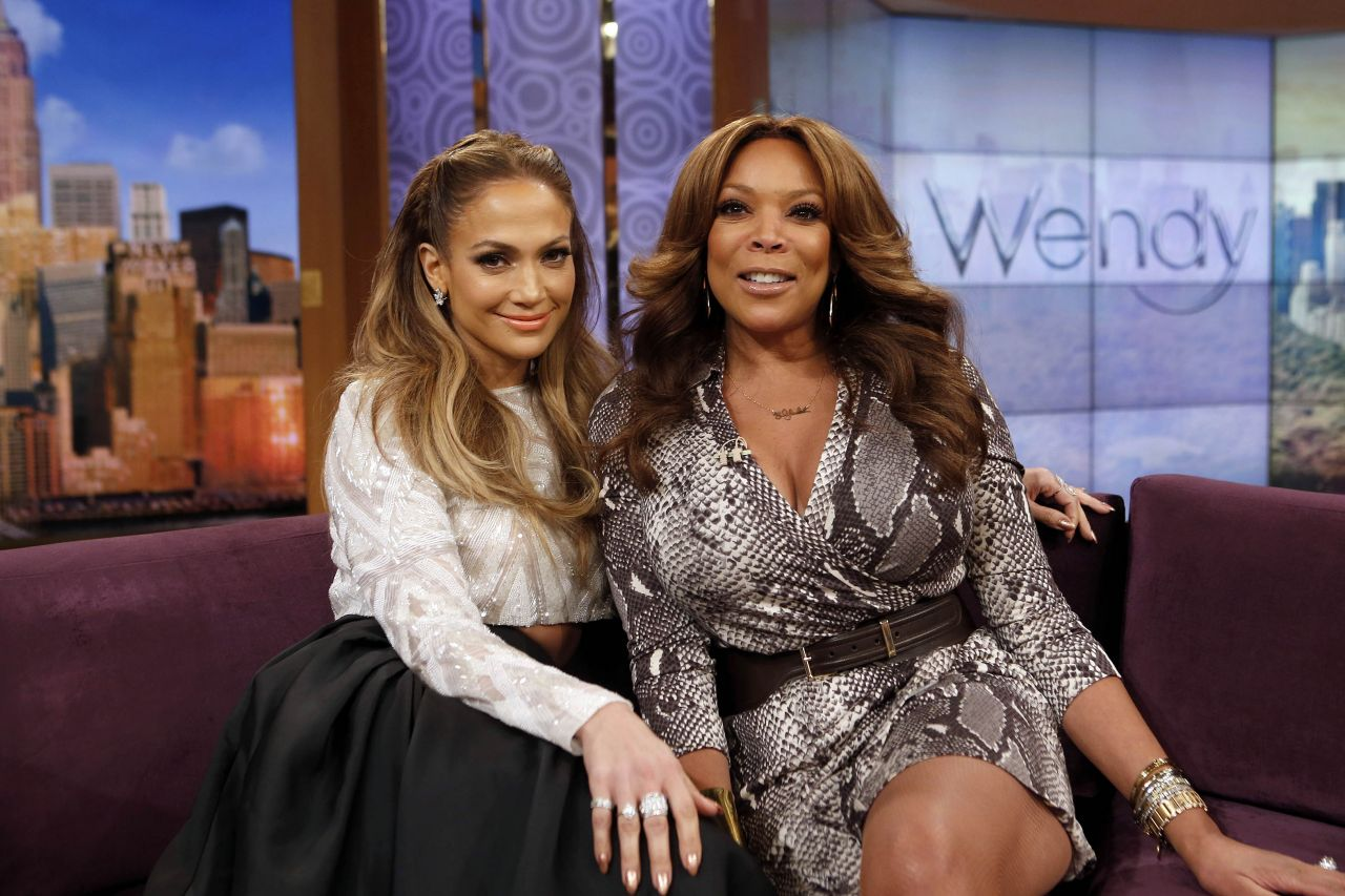 Jennifer Lopez - Wendy Williams Show - January 2015