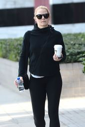Jennifer Morrison All in Black Style - Out in Los Angeles, January 2015