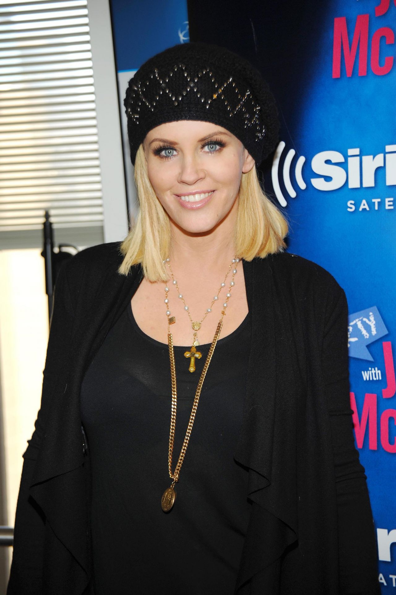 Jenny McCarthy at SiriusXM Studios in NYC - Jan 2015
