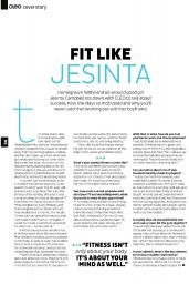 Jesinta Campbell - Cleo Magazine (Australia) - January 2015 Issue