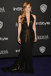 Jessica Chastain – InStyle and Warner Bros 2015 Golden Globes Party