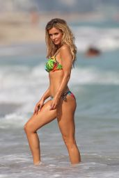 Joanna Krupa - ESOTIQ Photoshoot on a Beach in Miami, January 2015