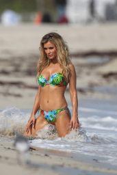 Joanna Krupa - ESOTIQ Photoshoot on a Beach in Miami, January 2015
