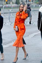 Jourdan Dunn - Burberry Prorsum Fashion Show in London - January 2015