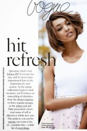 Jourdan Dunn - Vogue Magazine (UK) February 2015 Issue