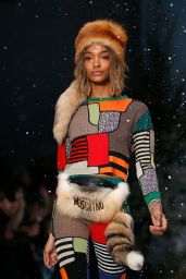 Jourdan Dunn - Walking the Runway During the Moshino Show in London - January 2015