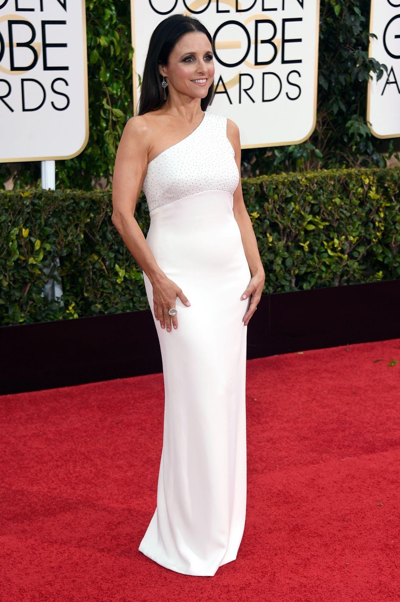 Julia Louis Dreyfus 2015 Golden Globe Awards In Beverly