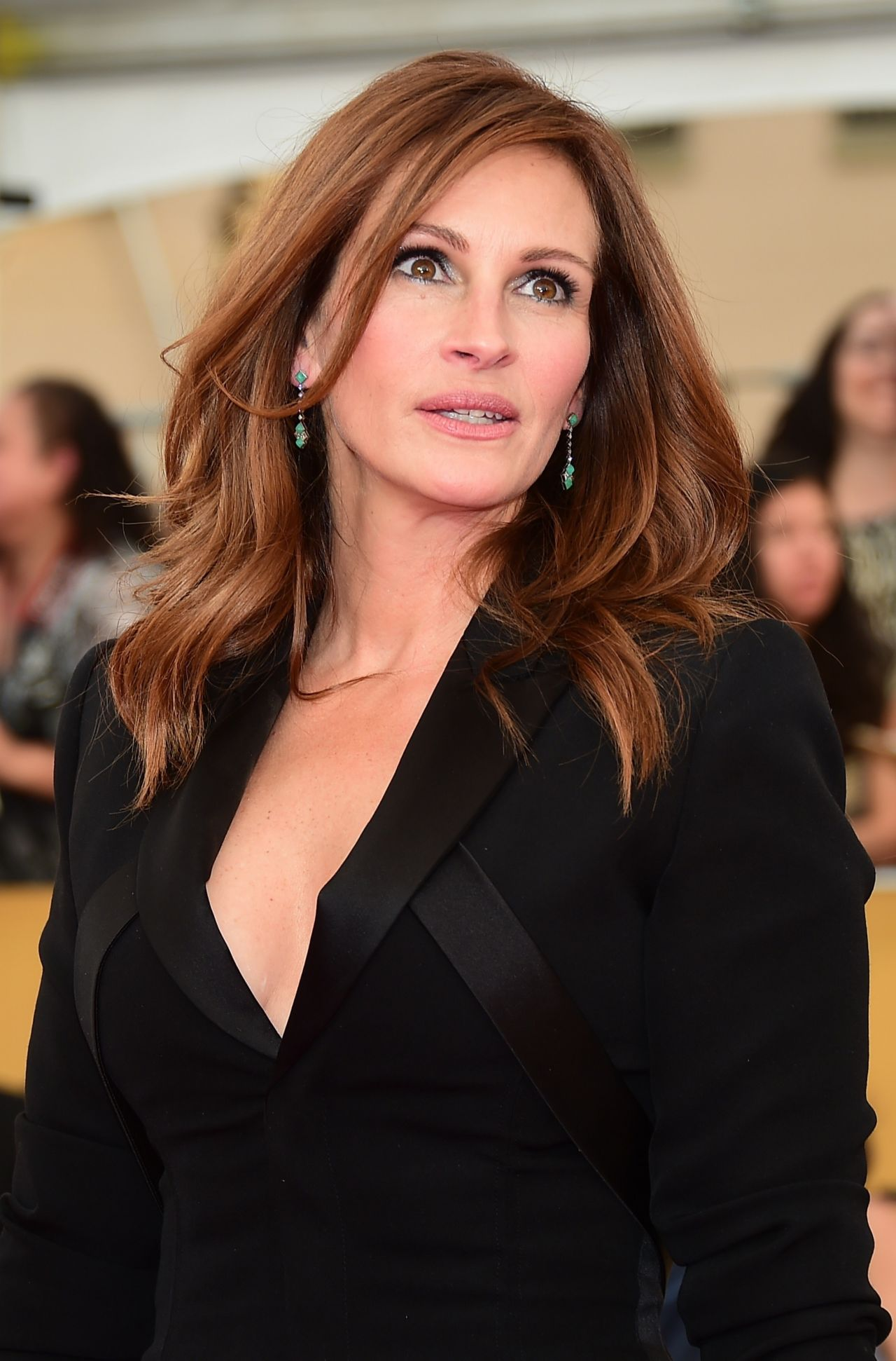 Julia Roberts So Devastated By Half Sister Nancy Motes S: 2015 SAG Awards In Los Angeles