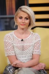 Julianne Hough Tapes an Appearance on