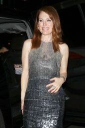 Julianne Moore Style - Outside Chateau Marmont, January 2015