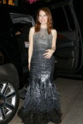 Julianne Moore Style - Outside Chateau Marmont, January 2015