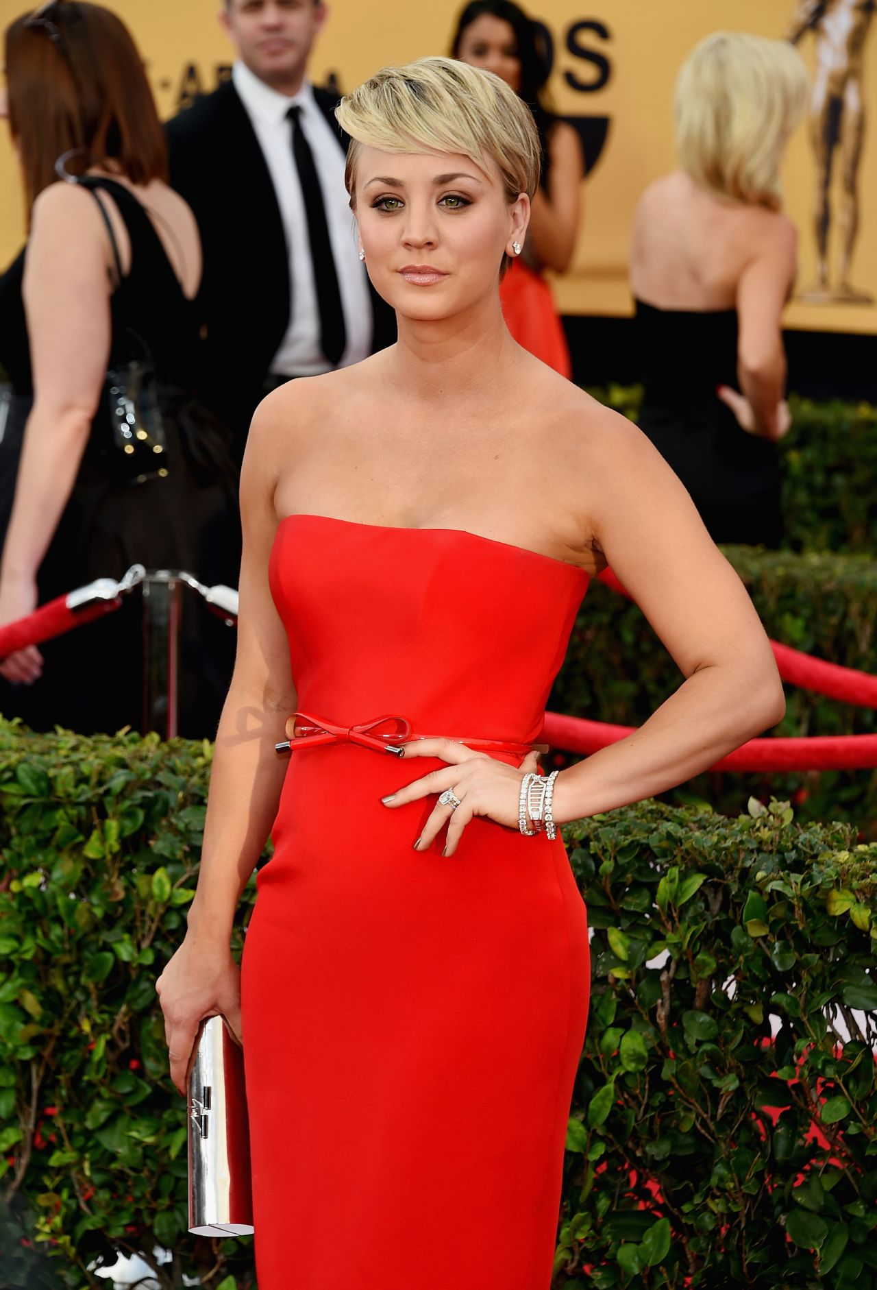 Kaley Cuoco – 2015 SAG Awards in Los Angeles