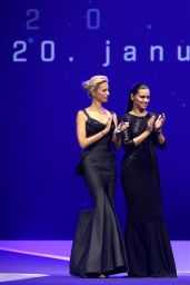 Karolina Kurkova - IWC Gala Dinner in Geneva - January 2015