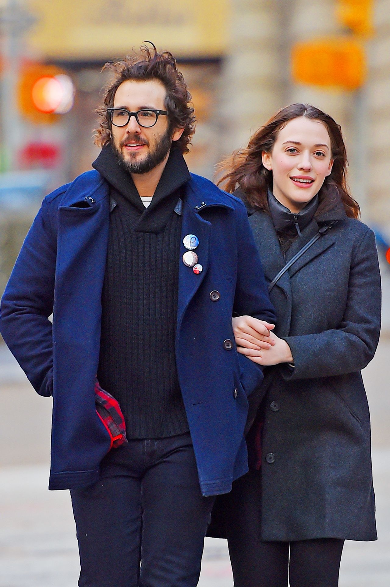 Kat Dennings Casual Style - Out in New York City - December 2014