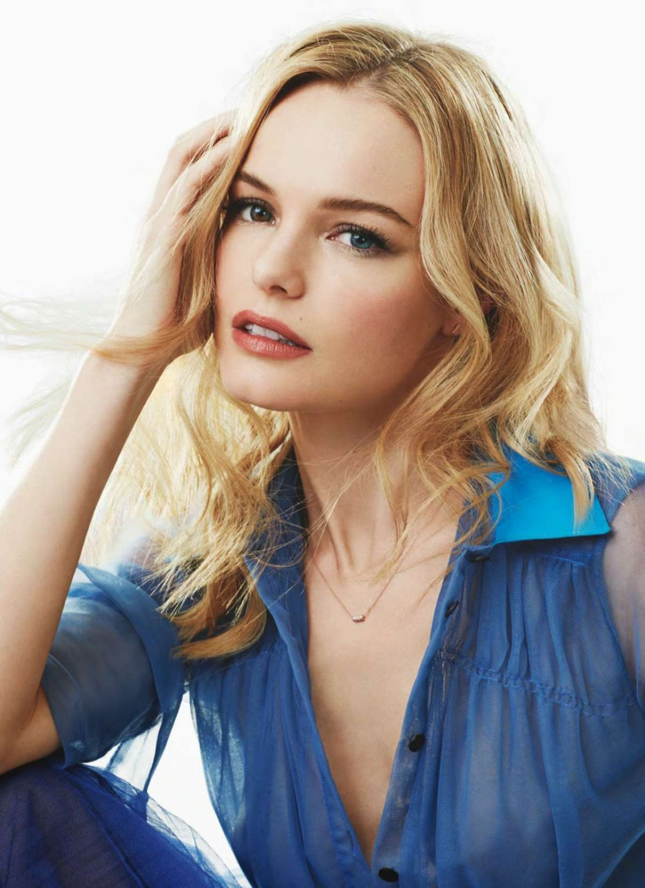Kate Bosworth - Marie Claire Magazine (UK) - March 2015 Issue