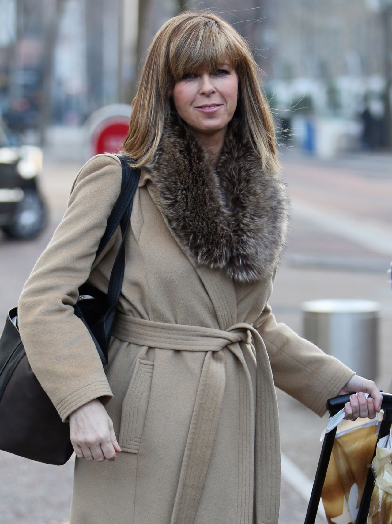Kate Garraway - Leaves the ITV Studios London, January 2015