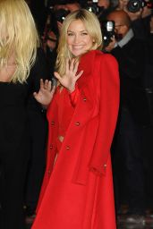 Kate Hudson - Versace Fashion Show in Paris - January 2015