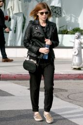 Kate Mara Casual Style - Out in Beverly Hills, Jan. 2015