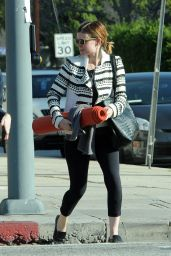 Kate Mara Style - Out in Los Angeles, January 2015