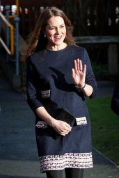 Kate Middleton at Barlby Primary School in London, January 2015