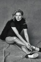 Kate Moss Photoshoot for Vogue (Italy) - January 2015
