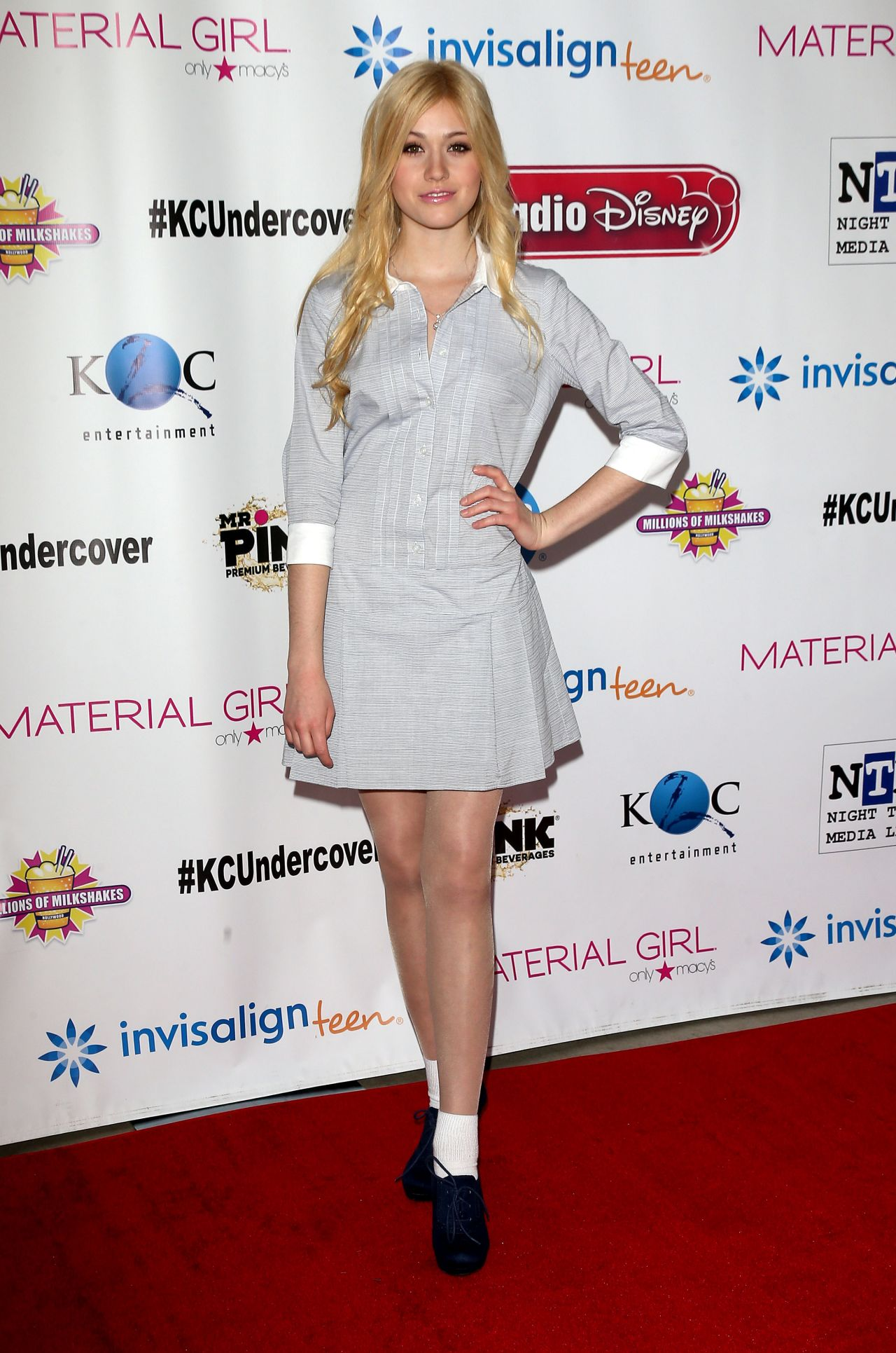 Katherine McNamara on Red Carpet -
