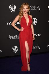 Katheryn Winnick – InStyle and Warner Bros 2015 Golden Globes Party