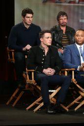 Katie Cassidy - CW Arrow Panel TCA Press Tour in Pasadena - January 2015