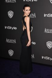 Katie Findlay – InStyle and Warner Bros 2015 Golden Globes Party