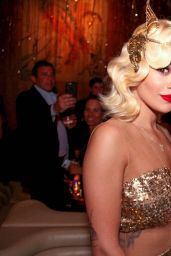 Katy Perry and Rita Ora - Top Of The Standard New Years Eve Party in New York City