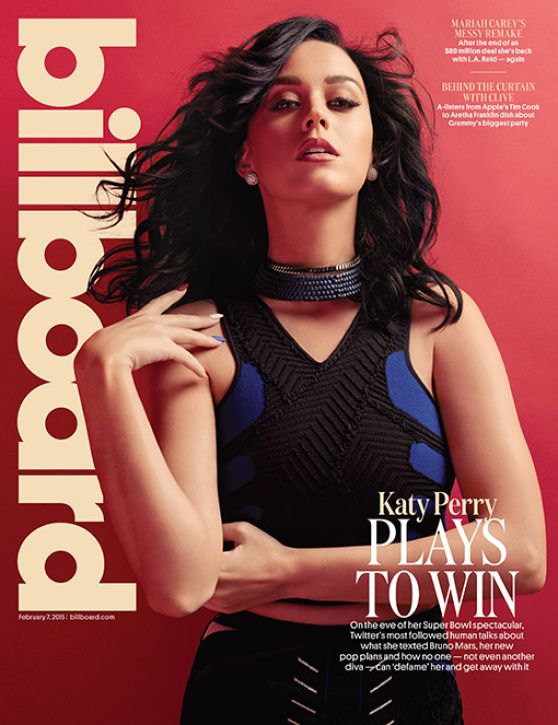Katy Perry - Billboard Magazine February 2015 Issue