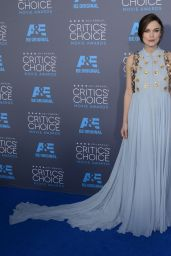 Keira Knightley – 2015 Critics Choice Movie Awards in Los Angeles